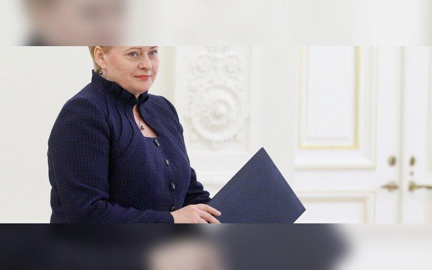 Prezidentė paskyrė keturis naujus ambasadorius