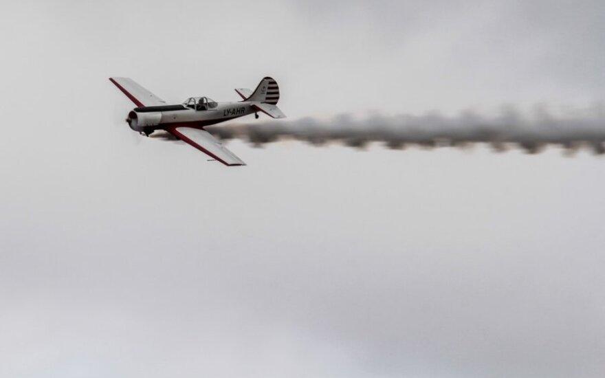 "Prieš ""Grand finals"" startą įspūdingai dangų raižė pilotas"