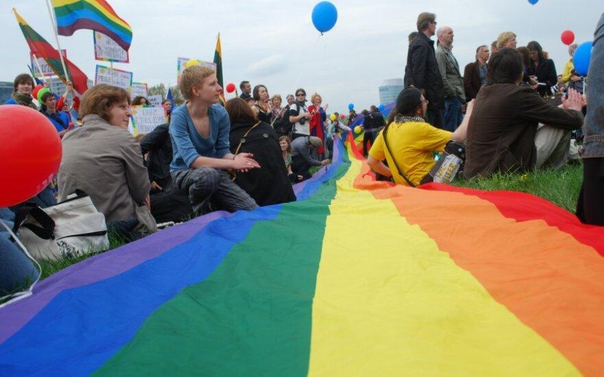 Homoseksualams atsirado viltis pražygiuoti Gedimino prospektu