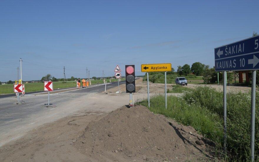 Rekonstruojma kelio Kaunas - Šakiai atkarpa