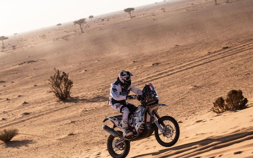 Arūnas Gelažninkas 7-ąją Dakaro ralio dieną