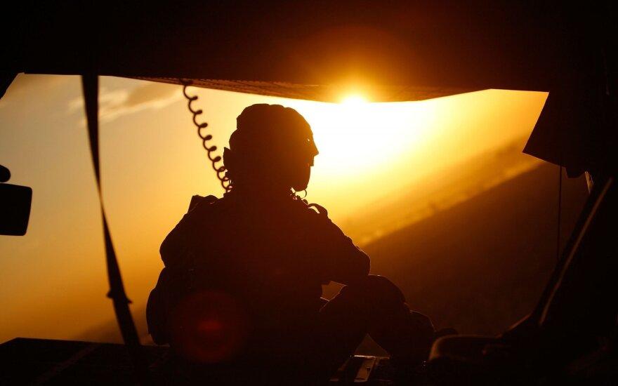 JAV greitojo dislokavimo pajėgos atvyko į Berlyną dalyvauti NATO pratybose