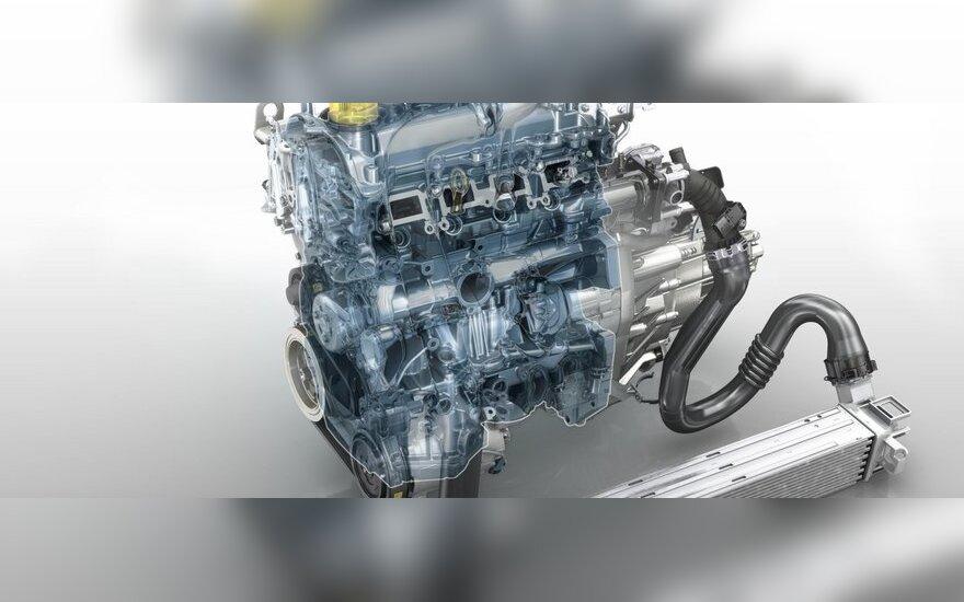 Naujasis Renault Energy TCe 115 variklis