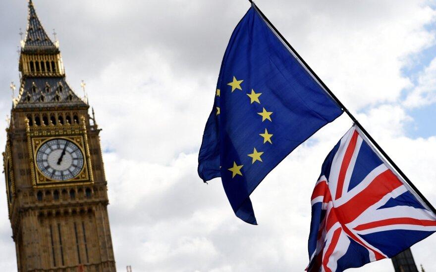 """Antrajame referendume britai balsuotų prieš """"Brexit"""""""