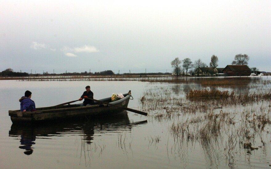 Potvynis Rusnėje