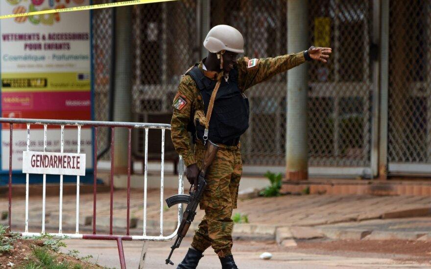 Teroristų išpuolis Burkina Fase