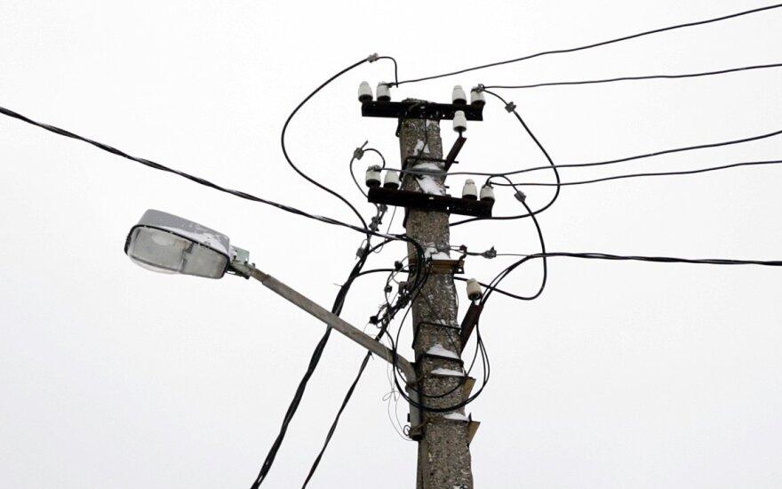 Planuojamos Šiaurinės gatvės vietoje Vilniuje bus naikinami aukštos įtampos elektros laidai