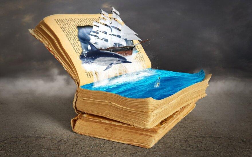 Grožinė literatūra kiekvieno žvejo lentynai