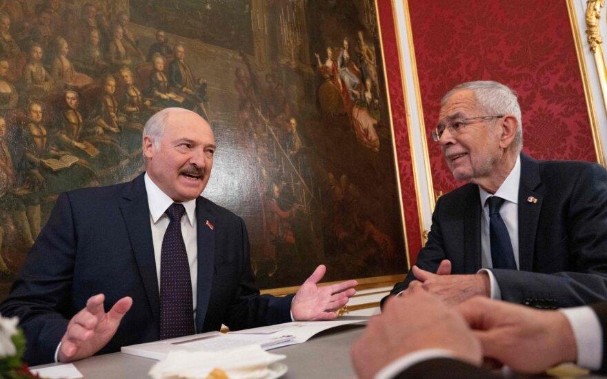 Austrijoje viešintis A. Lukašenka