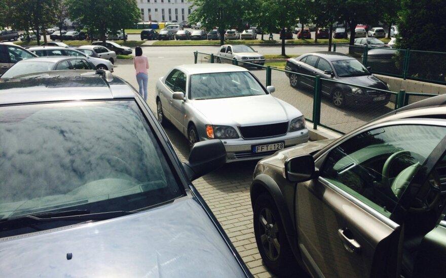 Penktadienio rytą vilnietį nustebino vairuotojo įžūlumas