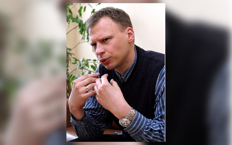 Vilniaus universiteto dėstytojas Rytis Juozapavičius