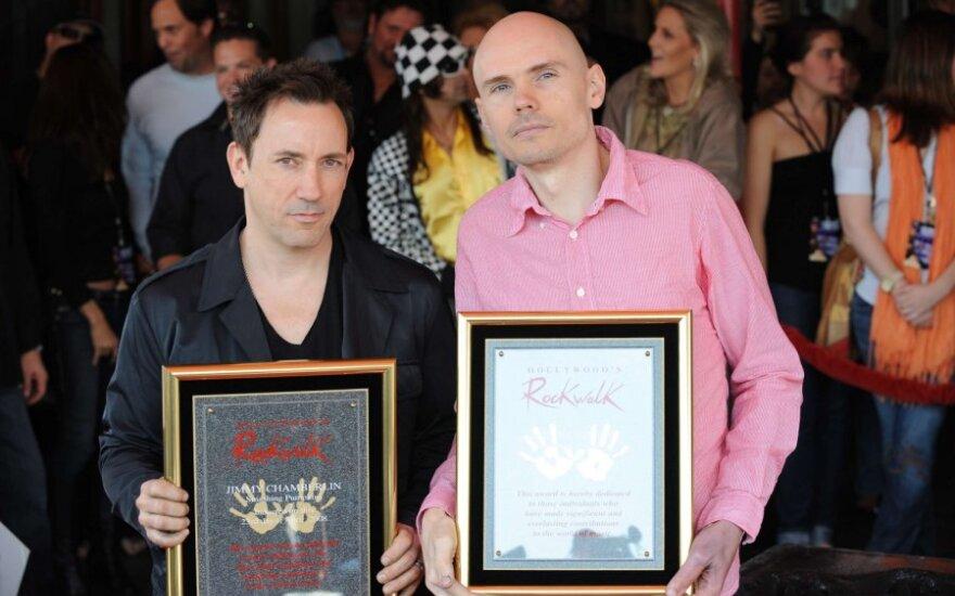 "Jimmy Chamberlin ir Billy Corgan iš ""Smashing Pumpkins"""