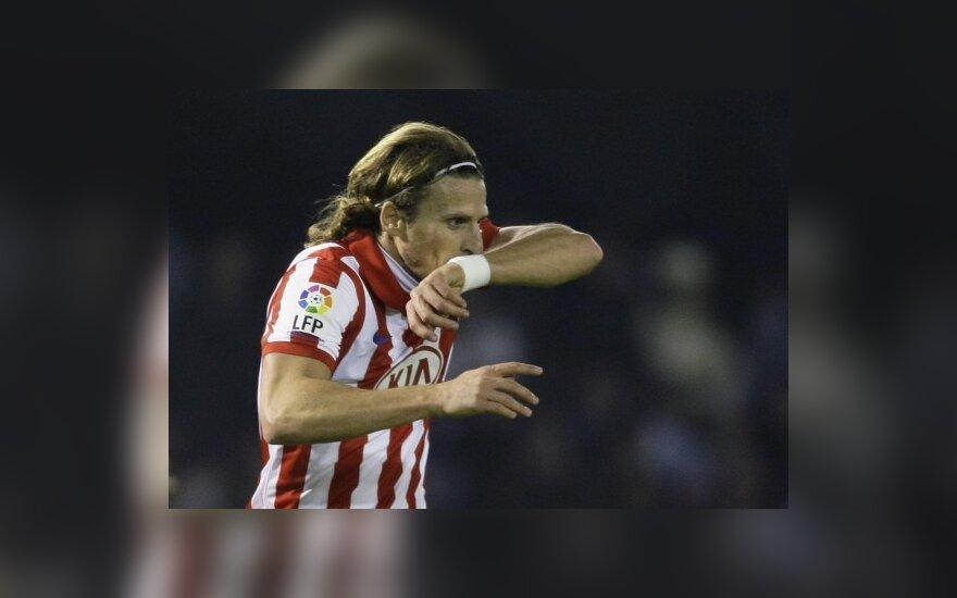 """Diego Forlanas (""""Atletico"""")"""