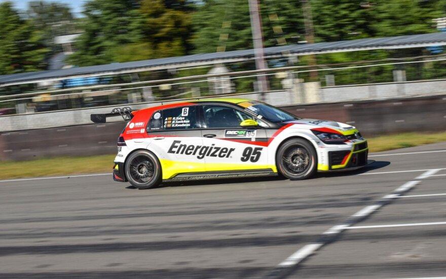 """Sėkminga """"Energizer Racing"""" treniruotė"""
