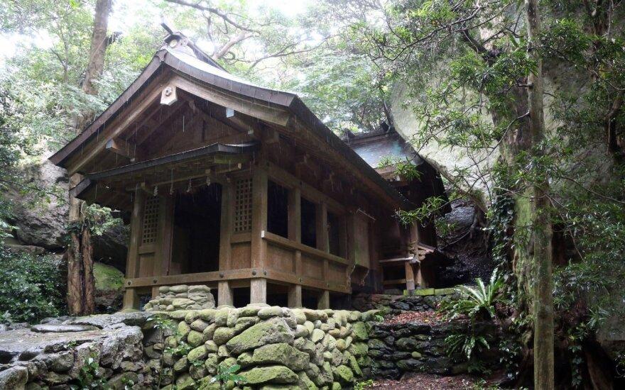 Į UNESCO paveldo sąrašą įtraukta Japonijos salelė, į kurią gali patekti tik vyrai