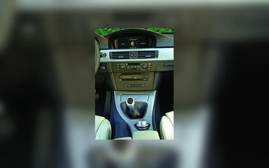 """""""BMW 3 Touring"""" interjeras"""