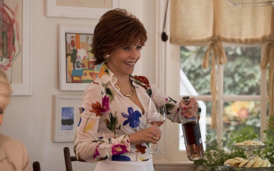 "Jane Fonda filme ""Knygų klubas"""