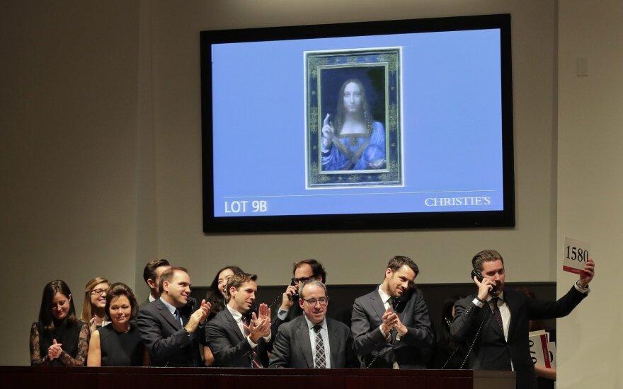 Niujorke parduotas brangiausias pasaulyje meno kūrinys