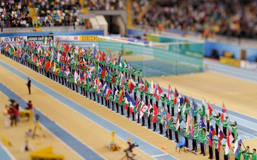 Pasaulio lengvosios atletikos čempionato atidarymo ceremonija