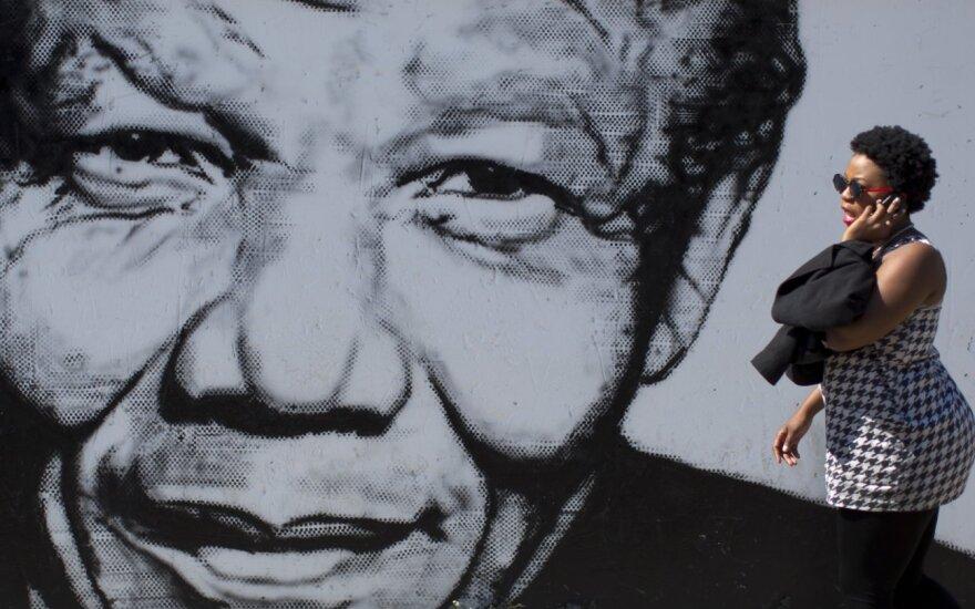 Nelson Mandela atvaizdas