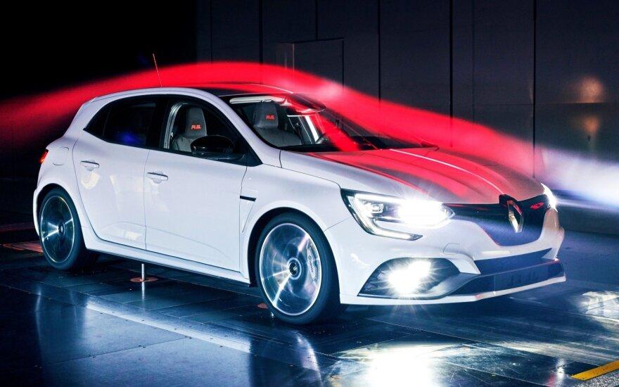 """Naujos kartos """"Renault Megane R.S."""""""