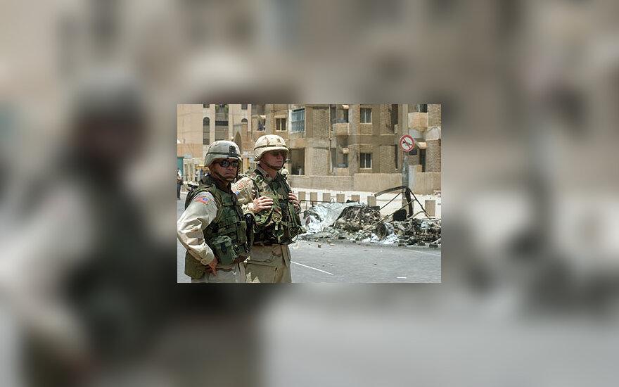 JAV kariškiai Irake