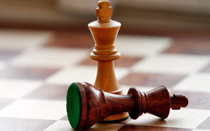 Lietuvos moterų šachmatų rinktinė nugalėjo norveges