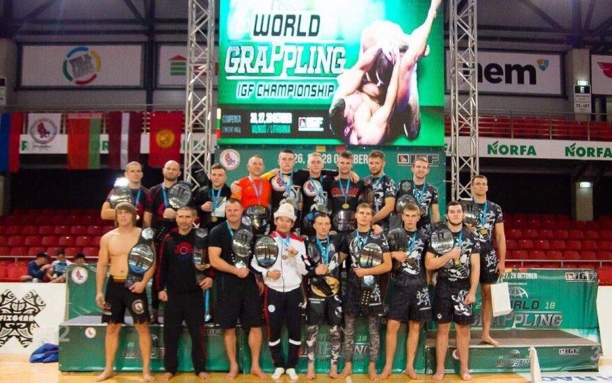 Pasaulio graplingo čempionato nugalėtojai