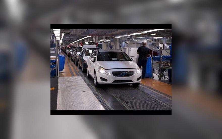 Volvo gamykla