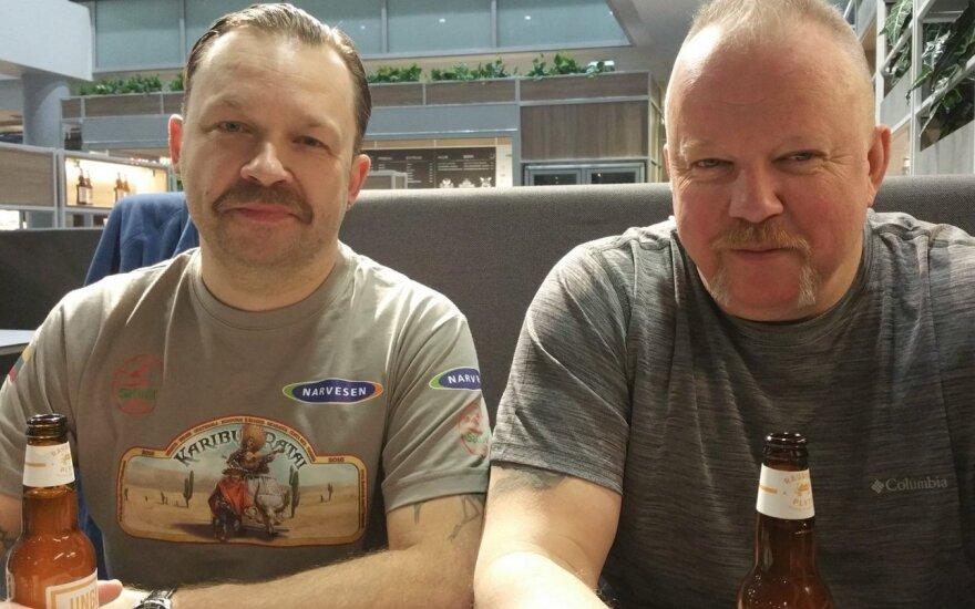 Martynas Starkus ir Vytaras Radzevičius