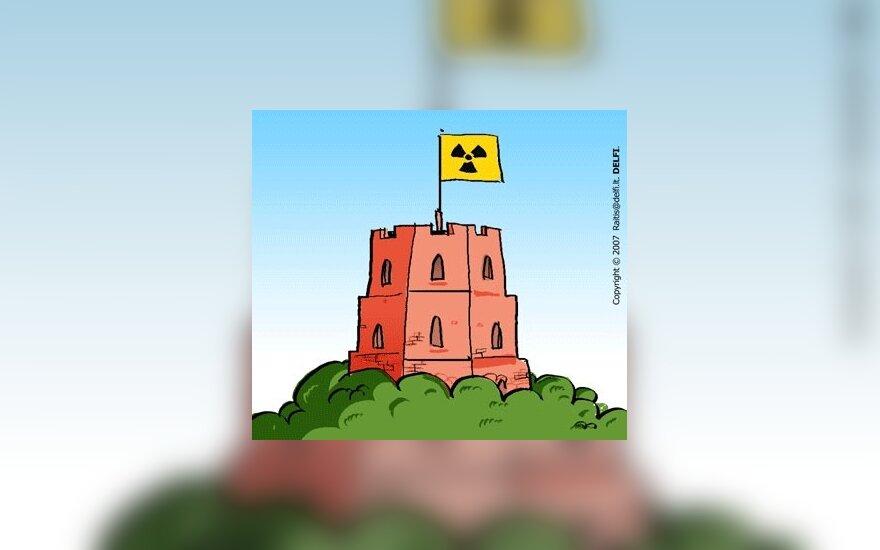 Lietuvos politikų branduolinės žvalgytuvės Amerikoje