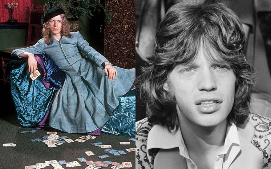 Davidas Bowie ir Mickas Jaggeris