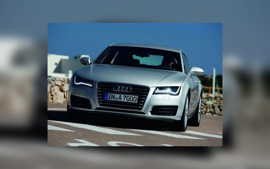 """""""Audi"""" pagerino pardavimų rekordą"""