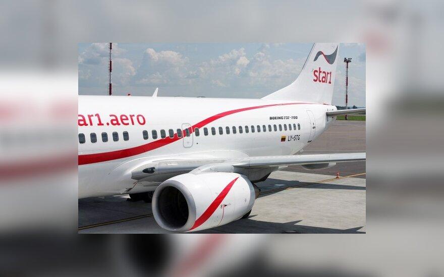 """Dėl nesumokėtos algos """"Star1 Airlines"""" prašoma bankroto bylos"""