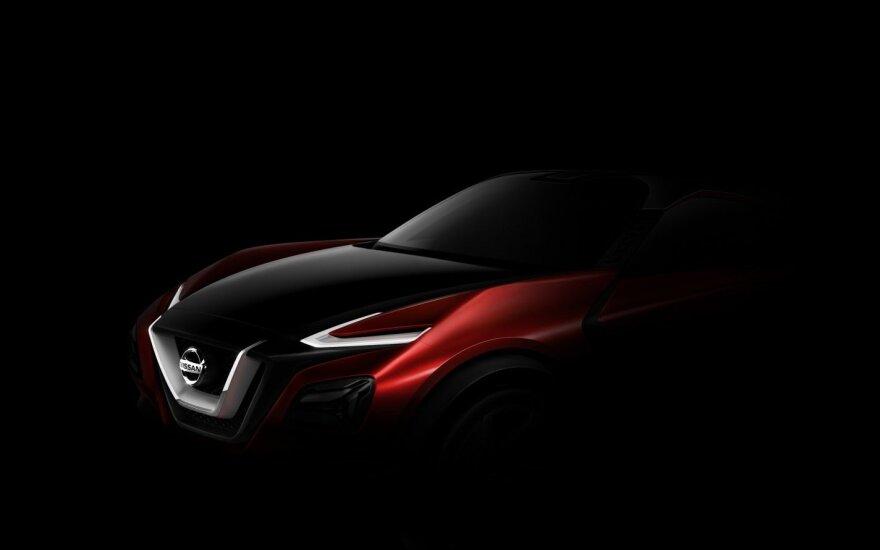 """Kas slepiasi po """"Nissan"""" koncepcinio automobilio išvaizda?"""