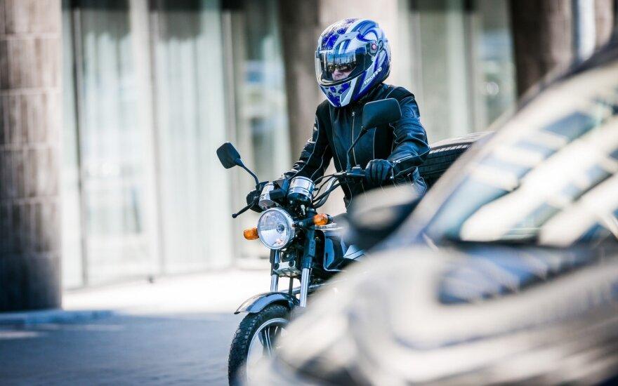 """Įsteigtas neformalus judėjimas """"Už motociklininkų teises"""""""