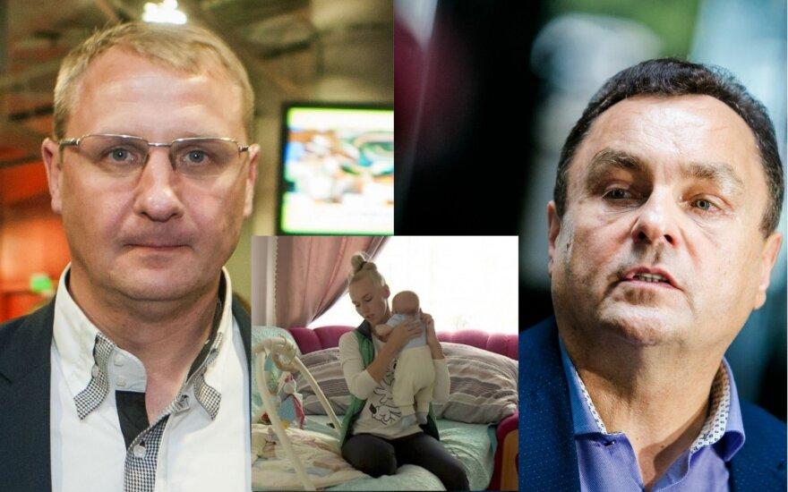 Andrius Šedžius, Birutė Navickaitė, Petras Gražulis/DELFI ir LNK nuotr.