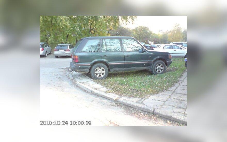 Vilniuje, Architektų g. 205. 2010-10-24, 10 val.