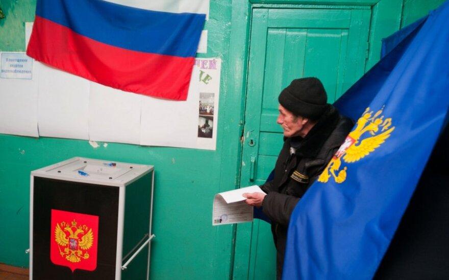 Stebėti Rusijos parlamento rinkimus pakviesti ekspertai iš ES ir Izraelio
