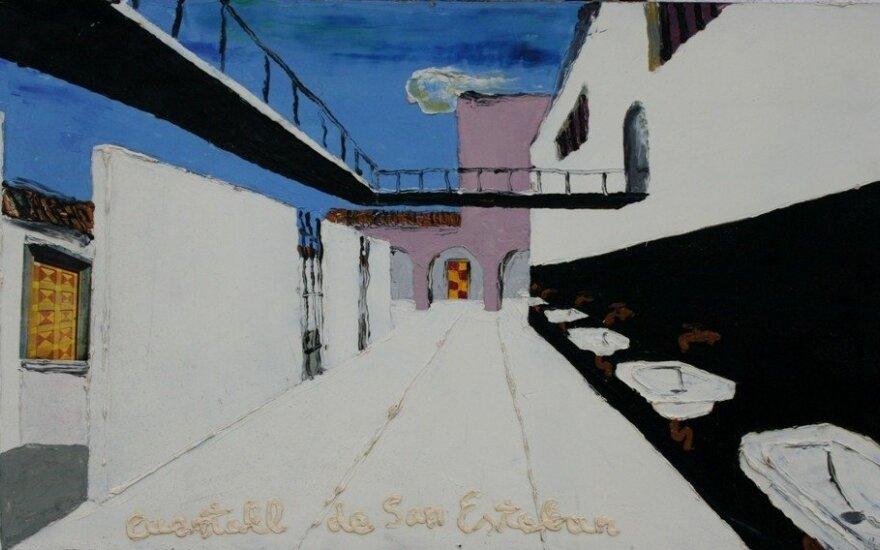 """Linas Katinas. """"Čilės kalėjimas"""" (1971)"""