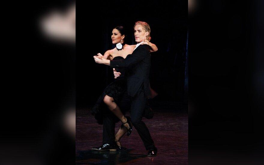"Anželika Cholina spektaklyje ""Tango in fa"""