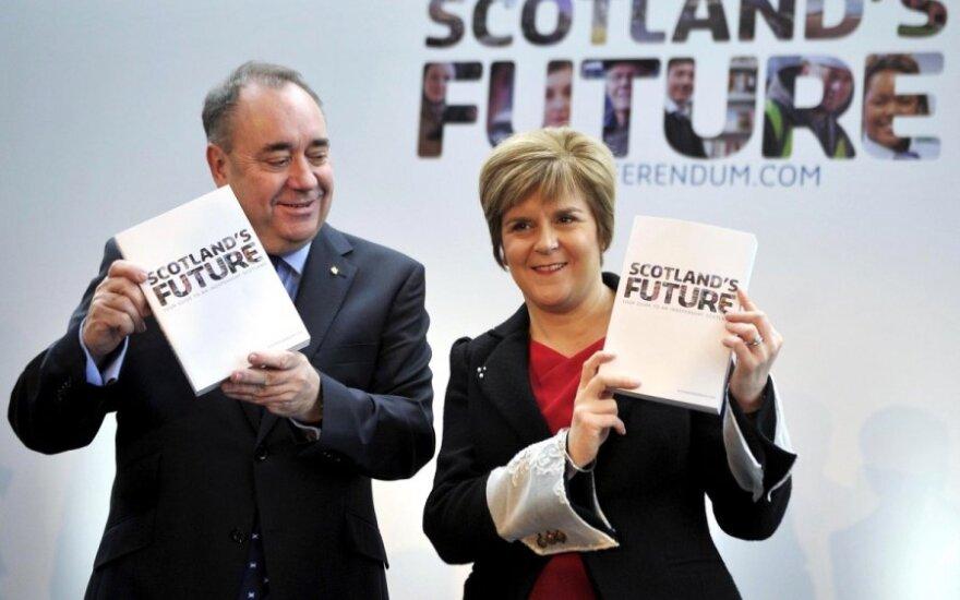 Kokia Škotijos nepriklausomybės kaina?