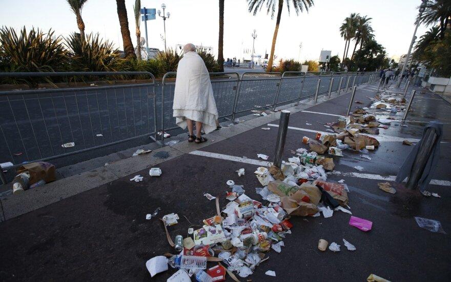 Prancūzija paminėjo 86 gyvybes nusinešusio išpuolio Nicoje metines