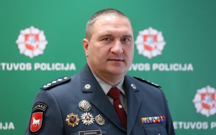 Kauno apskr. VPK viršininkas Darius Žukauskas