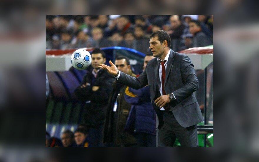 Kroatijos rinktinės treneris Slavenas Biličius