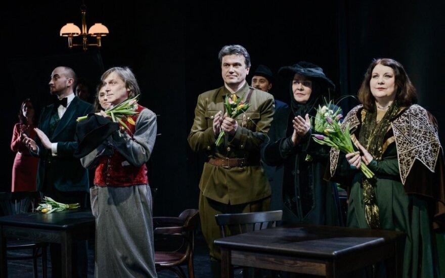 """Mažojo teatro 25-ajam jubiliejui skirtas spektaklis """"Minetis"""" (L. Vansevičienės nuotr.)"""