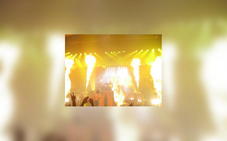 """""""Rammstein"""" pasirodymas"""