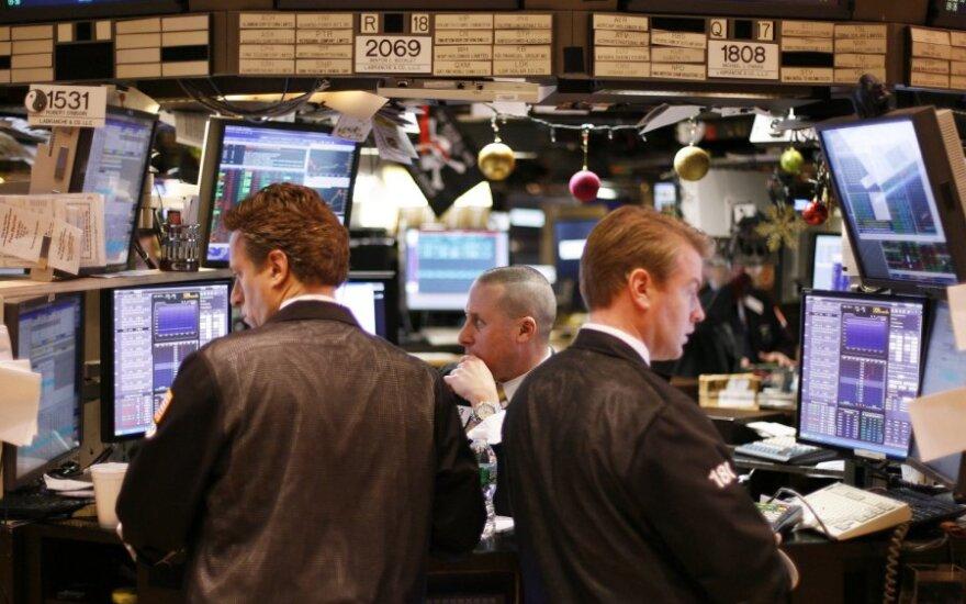Volstrito akcijų indeksai auga