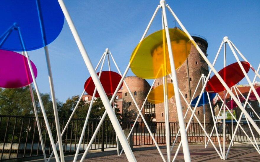 Klaipėdiečio sukurta viešojo meno instaliacija pristatoma Gdanske
