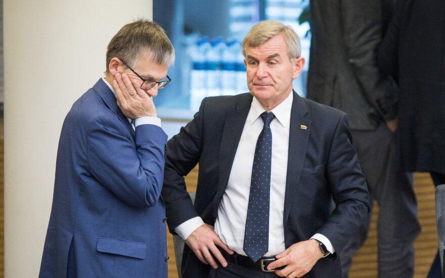 Julius Sabatauskas, Viktoras Pranckietis
